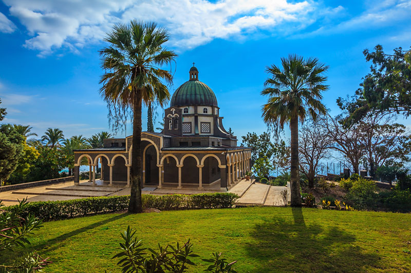 Church of the Beatitudes (Mount of Beatitudes near Tabgha, Israel)
