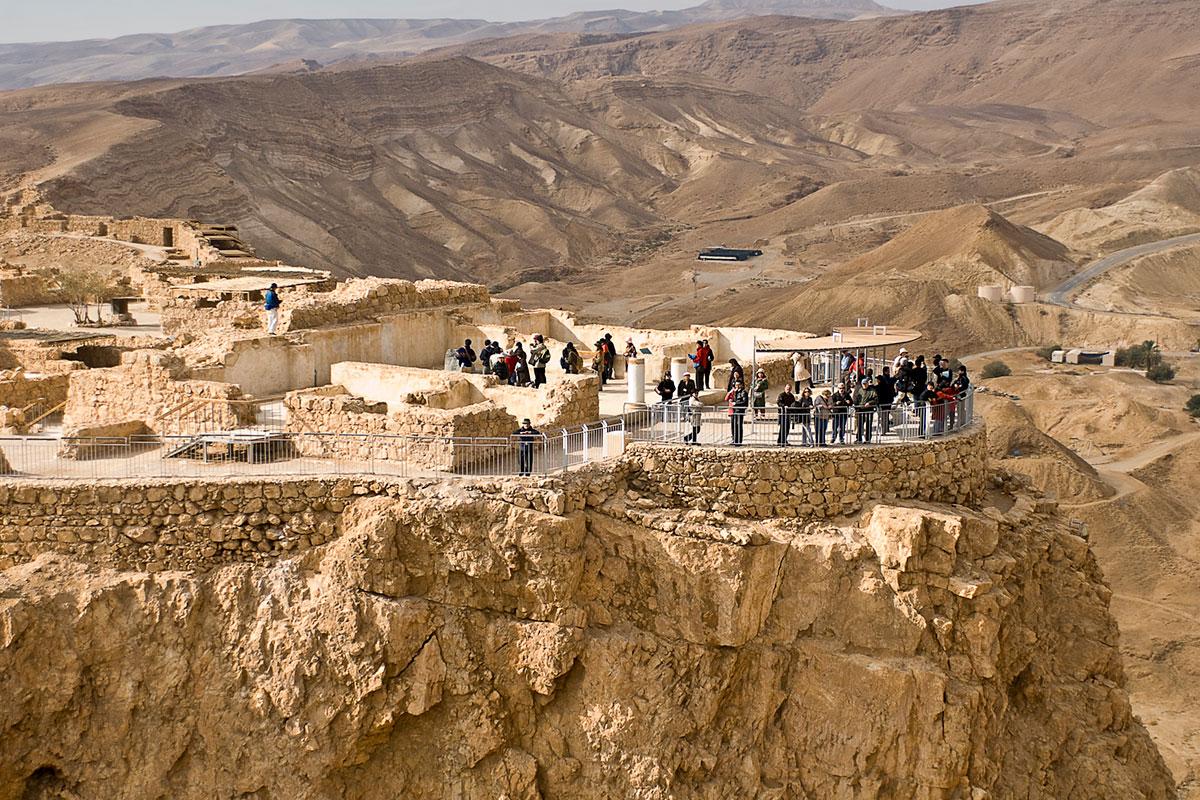 Masada (Judaean Desert overlooking Dead Sea)